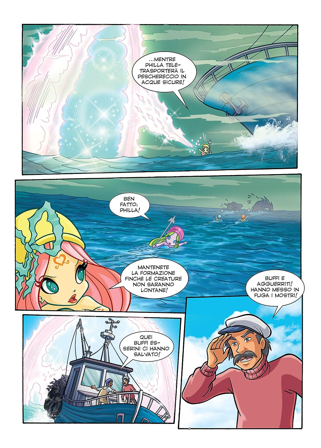 Winx Club Magazine #104: Lo specchio del mare