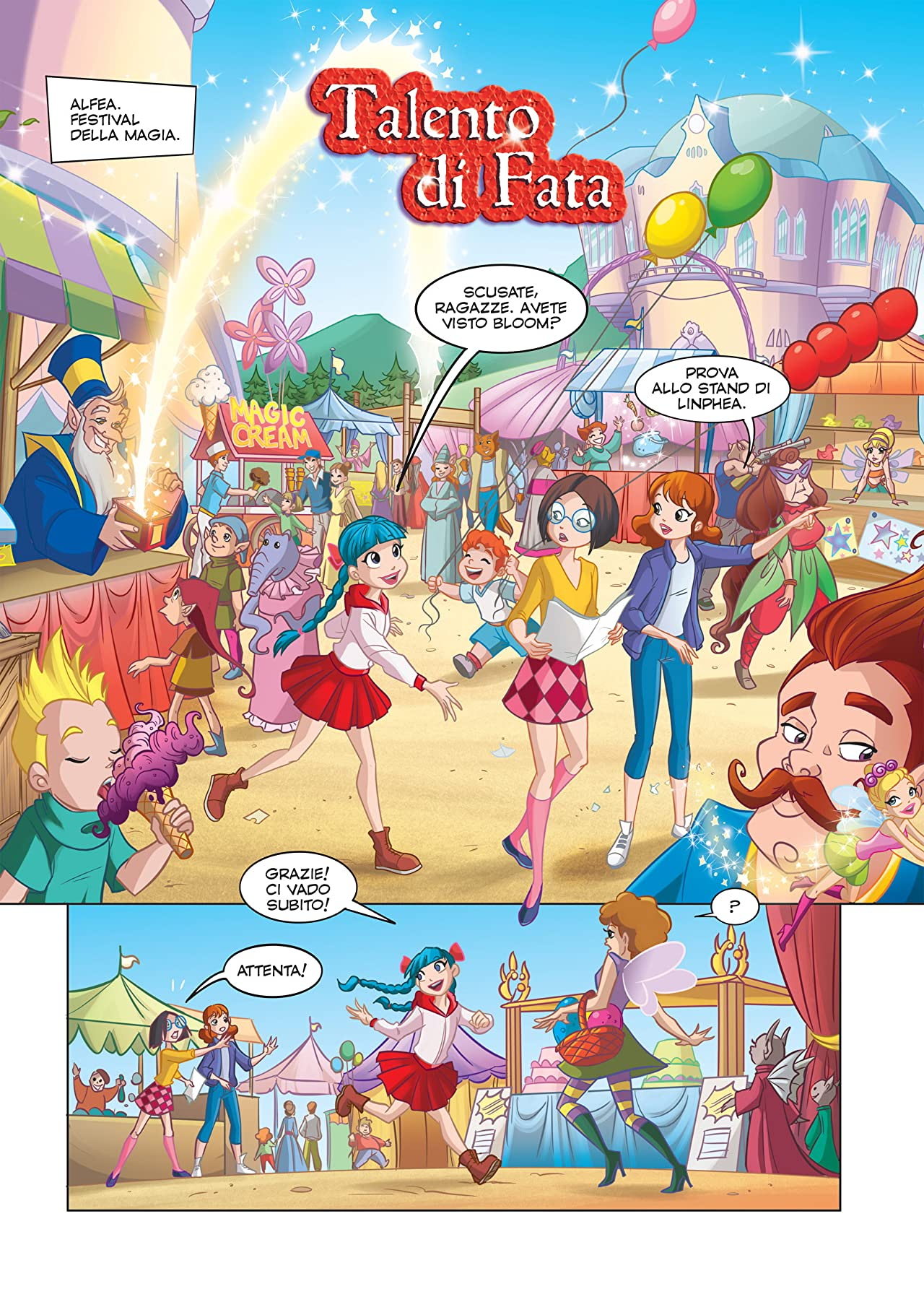 Winx Club Magazine #114: Talento di fata
