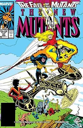 New Mutants (1983-1991) #61