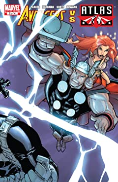 Avengers vs. Atlas (2010) #2 (of 4)