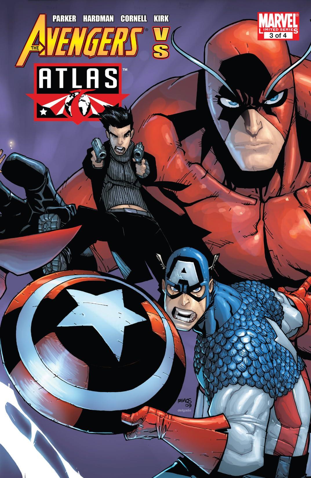 Avengers vs. Atlas (2010) #3 (of 4)