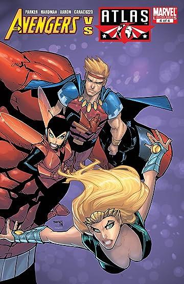 Avengers vs. Atlas (2010) #4 (of 4)