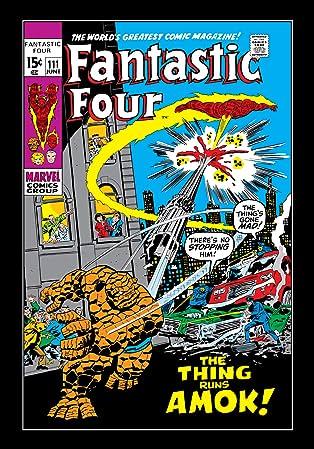 Fantastic Four (1961-1998) #111