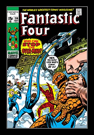 Fantastic Four (1961-1998) #114