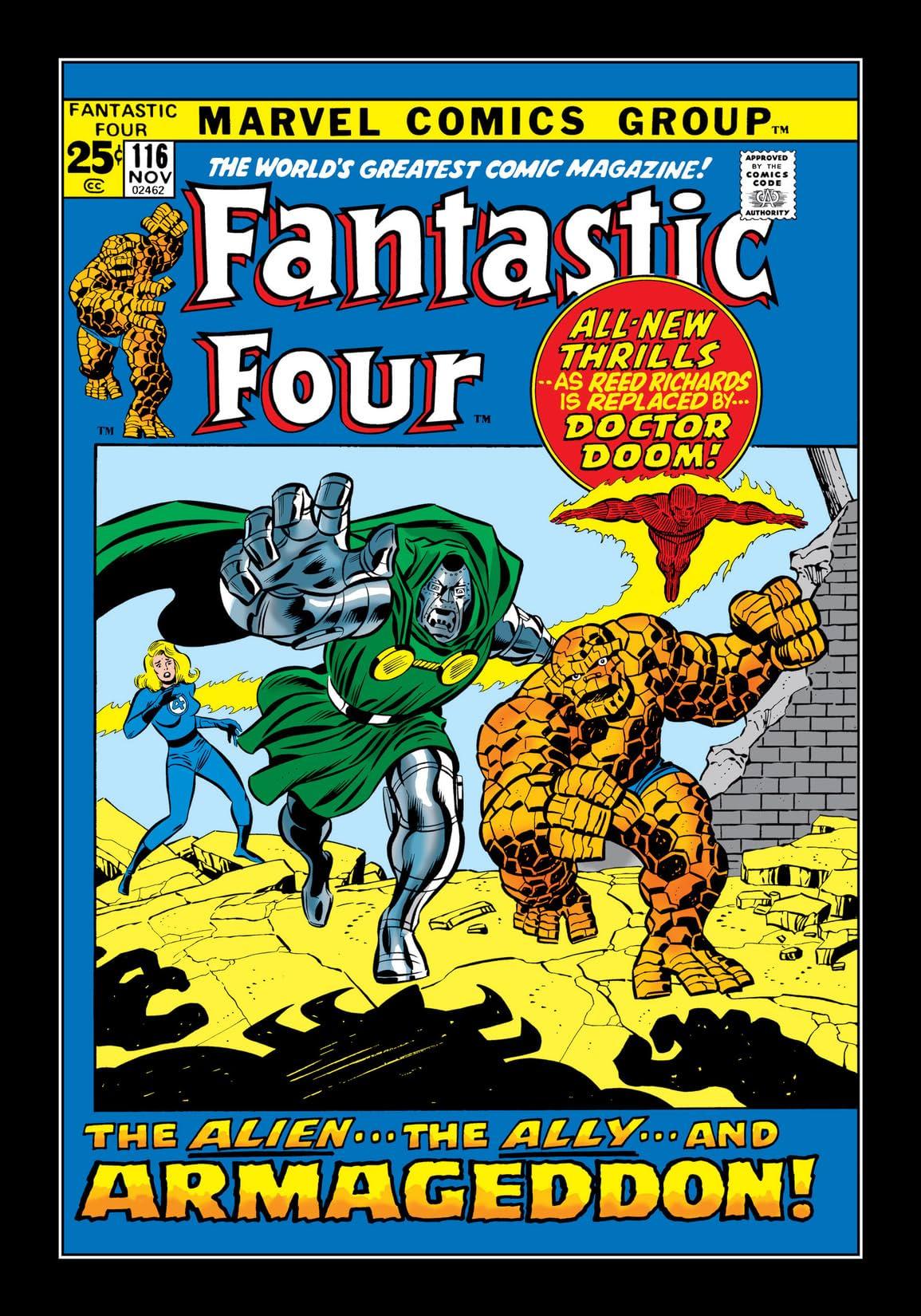 Fantastic Four (1961-1998) #116