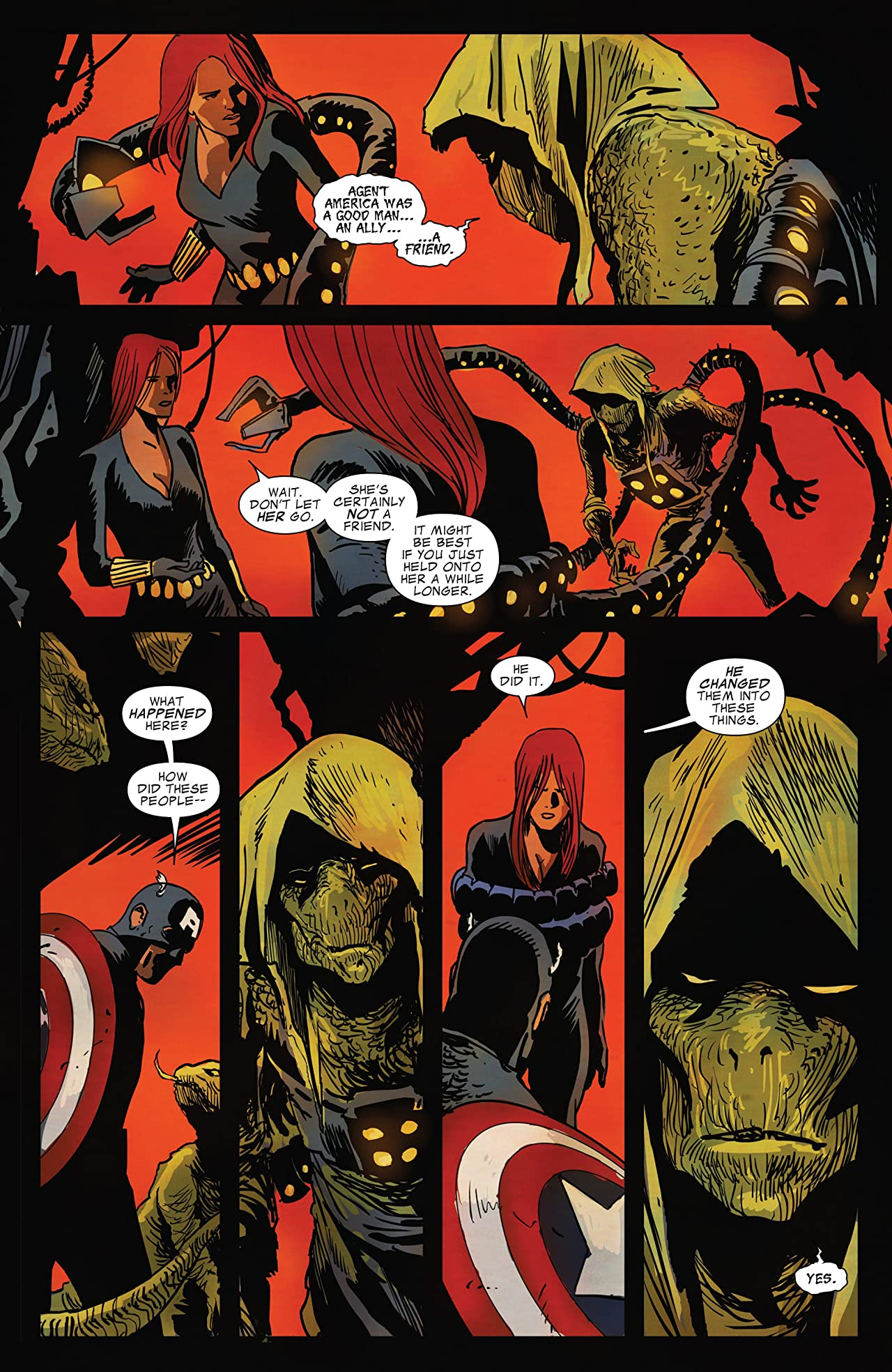 Captain America and Black Widow #639