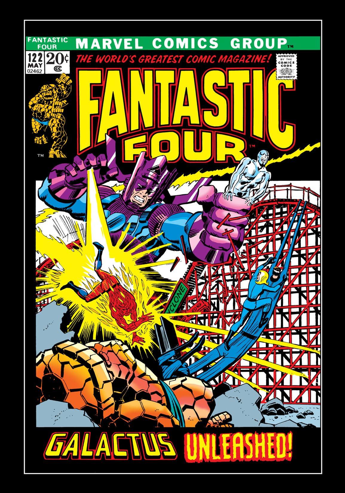 Fantastic Four (1961-1998) #122