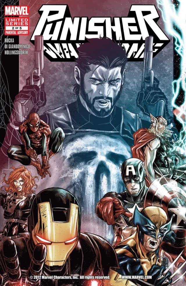 Punisher: War Zone #2 (of 5)