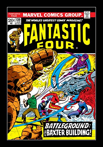 Fantastic Four (1961-1998) #130