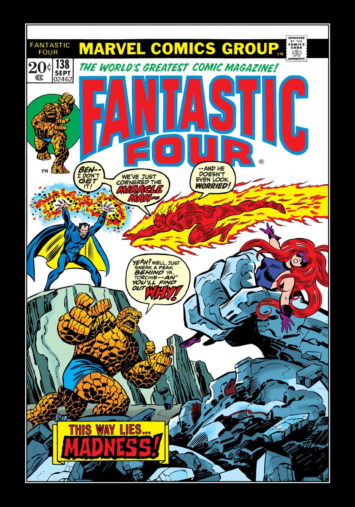 Fantastic Four (1961-1998) #138