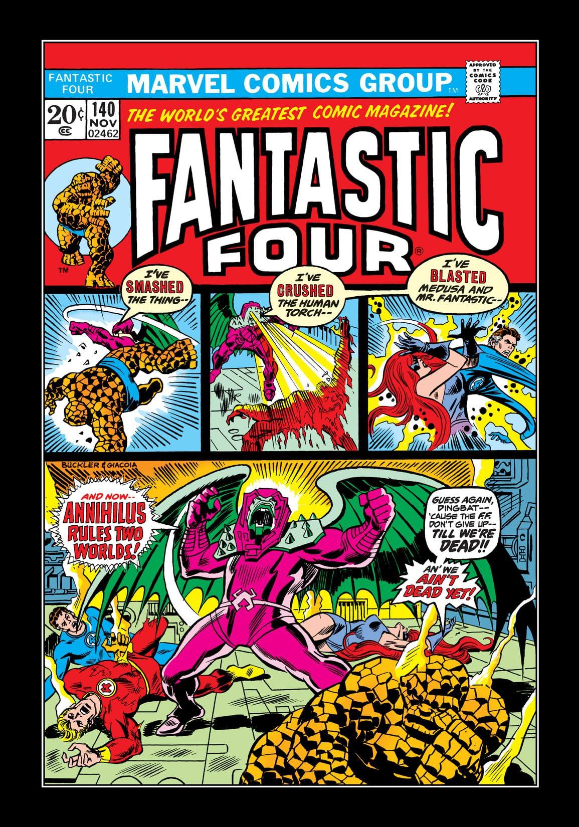 Fantastic Four (1961-1998) #140