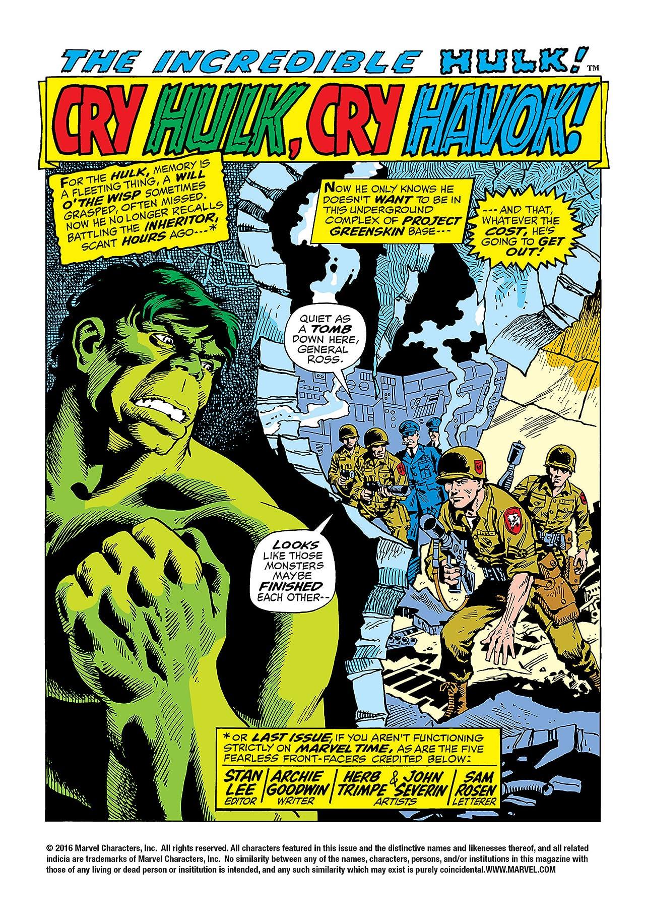 Incredible Hulk (1962-1999) #150