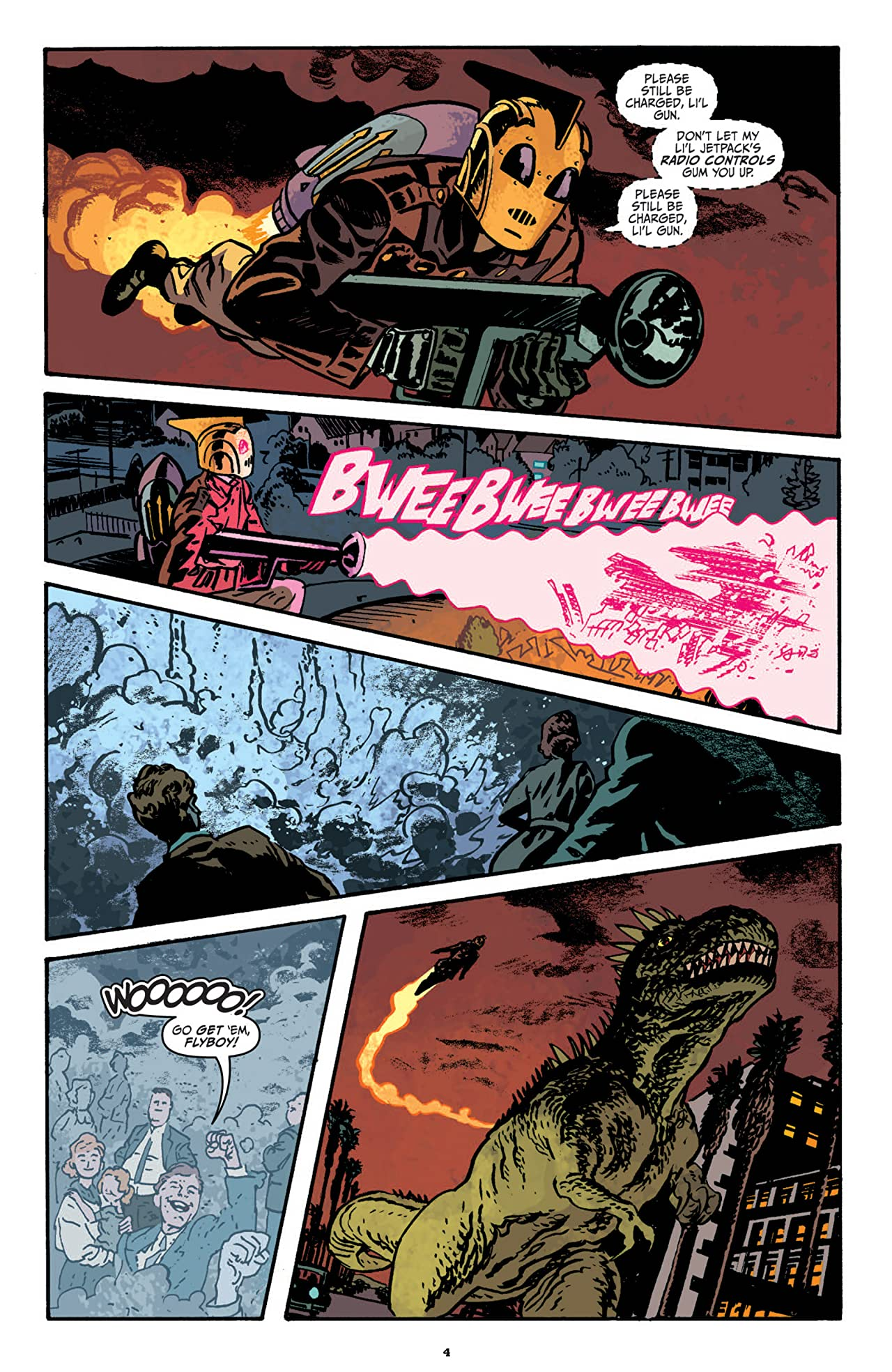 The Rocketeer: Cargo of Doom #4 (of 4)