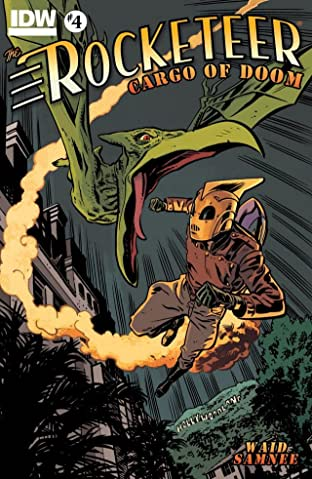 The Rocketeer: Cargo of Doom No.4 (sur 4)