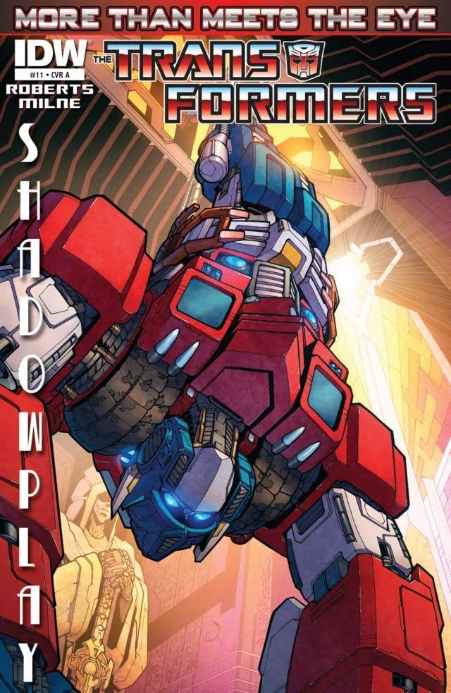 Transformers: More Than Meets the Eye (2011-2016) #11