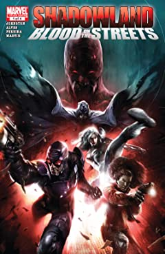 Shadowland: Blood On The Streets (2010) #1 (of 4)