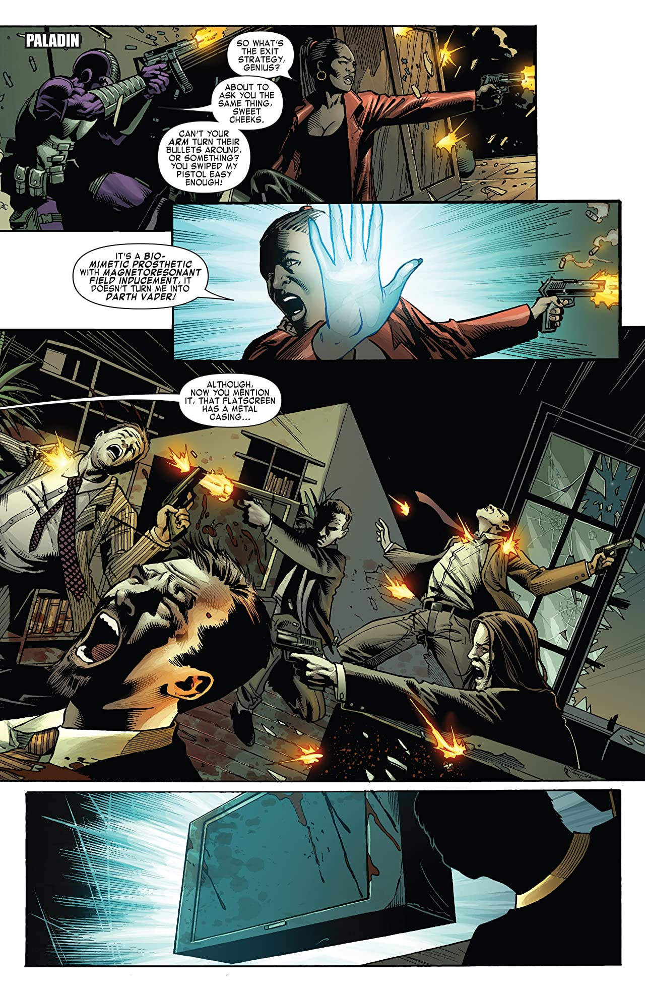 Shadowland: Blood On The Streets (2010) #3 (of 4)