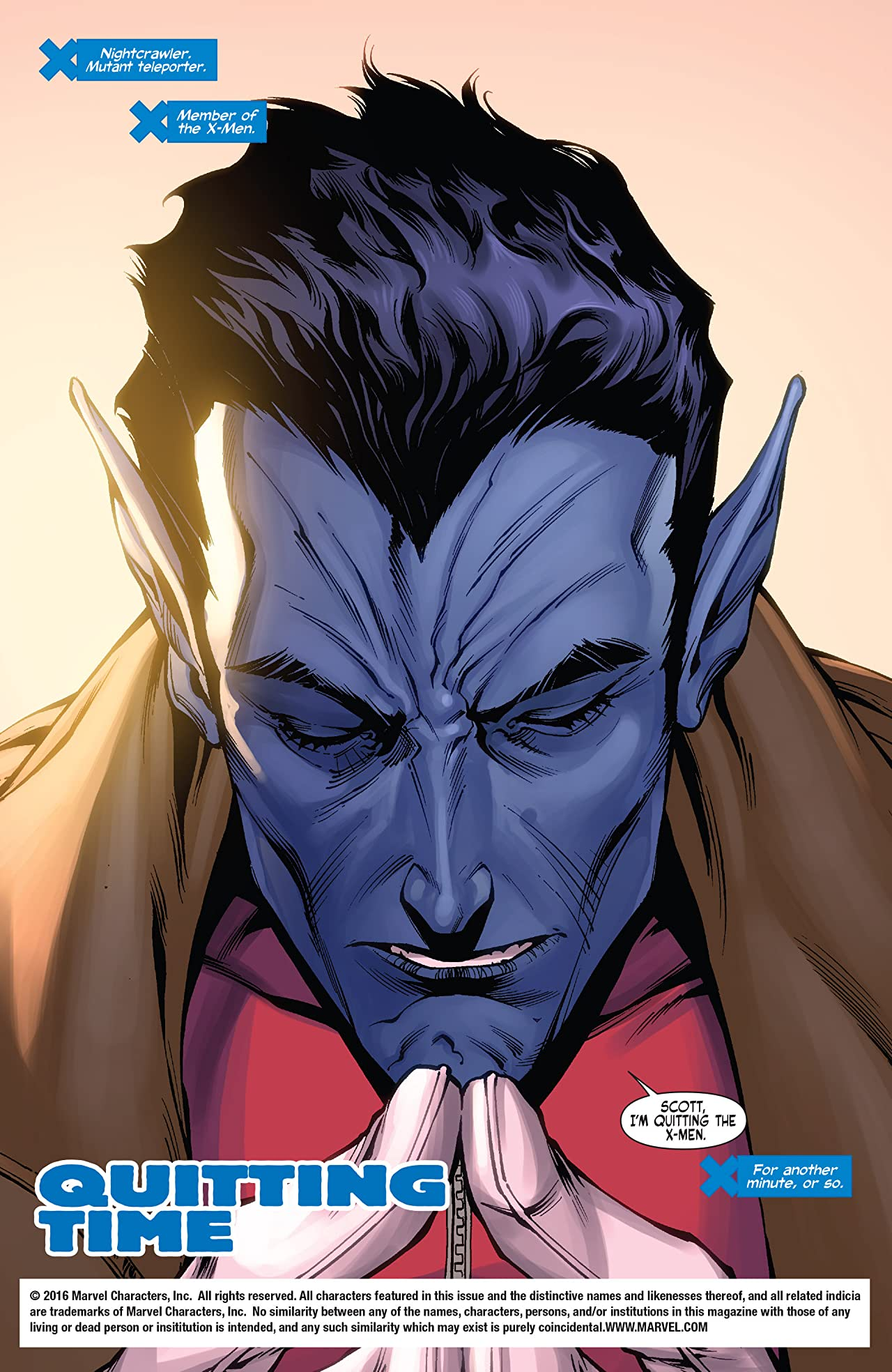 X-Men: Manifest Destiny - Nightcrawler (2009) #1