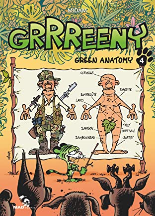 GRRREENY Vol. 4: Green Anatomy