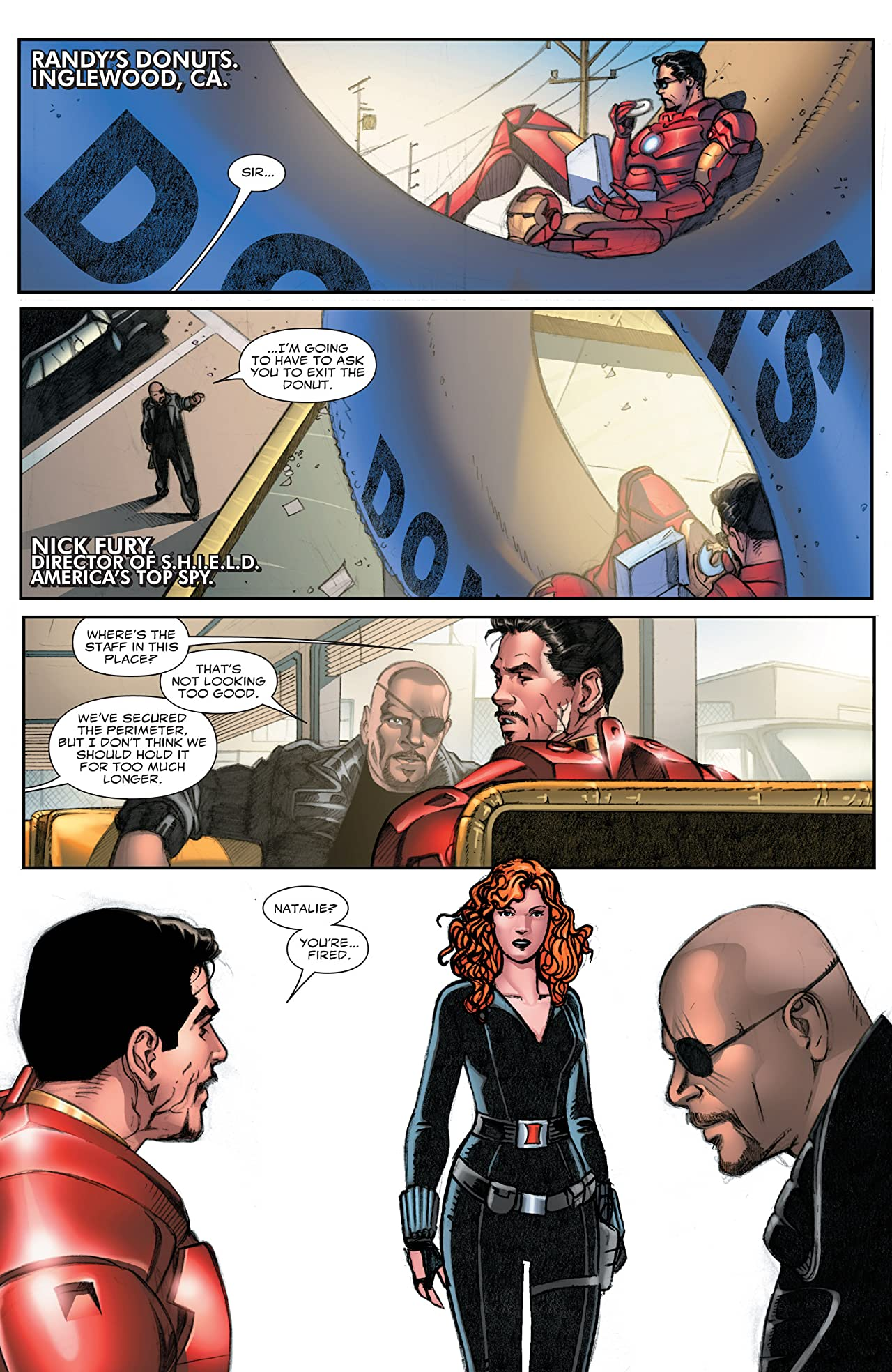 Marvel's Iron Man 2 Adaptation #2 (of 2)