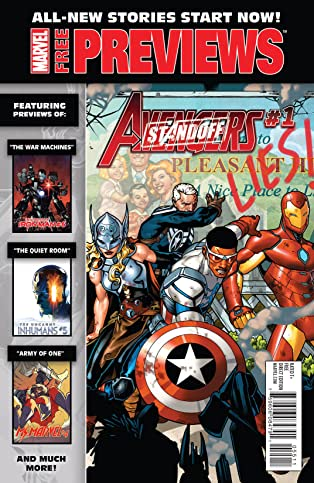 Marvel New Stories Start Now! Previews