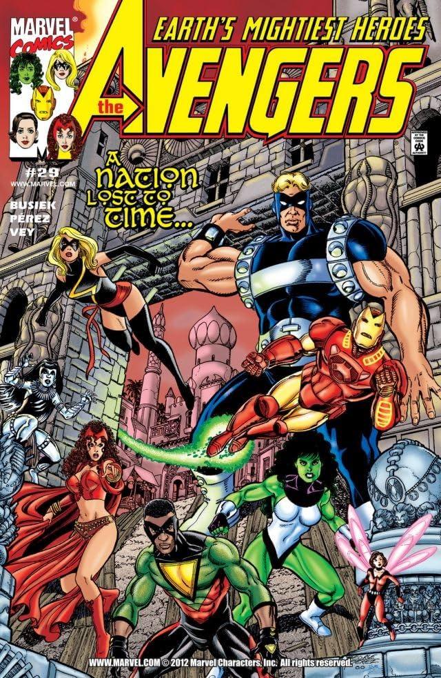 Avengers (1998-2004) #29