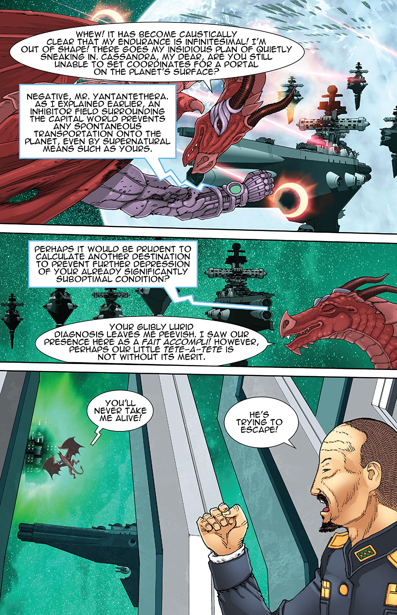 Immortal Wings #4 (of 4)