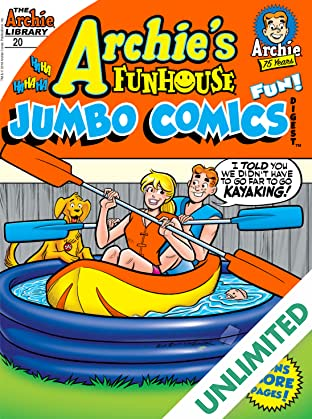 Archie's Funhouse Comics Double Digest #20