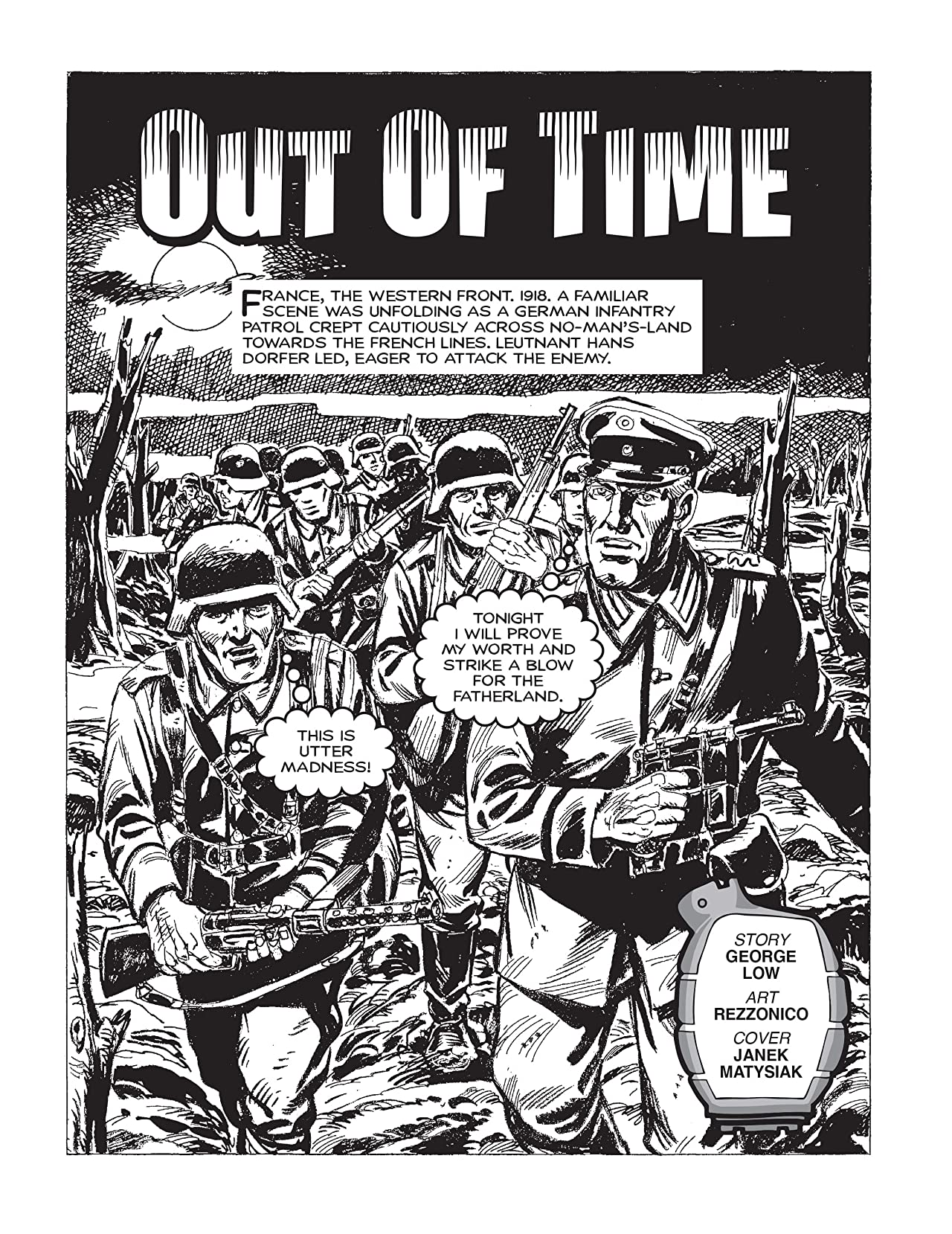 Commando #4887: Out Of Time