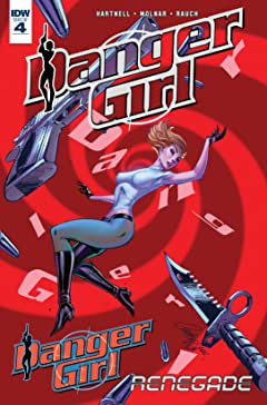 Danger Girl: Renegade #4 (of 4)