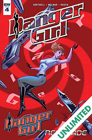 Danger Girl: Renegade #4 (of 4)