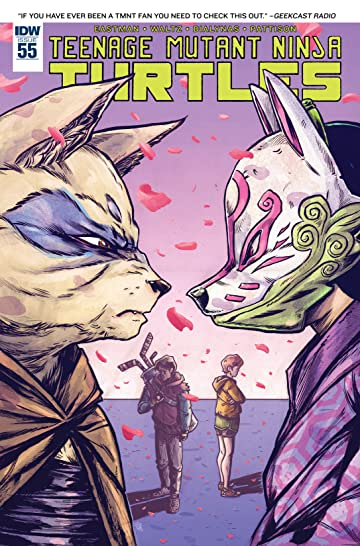 Teenage Mutant Ninja Turtles #55