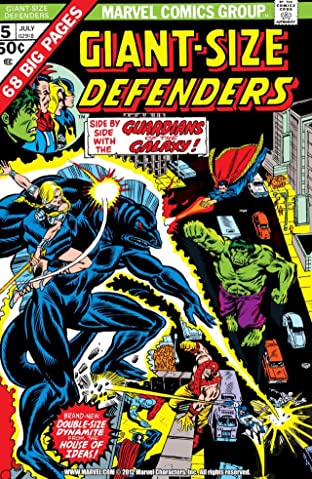 Giant-Size Defenders (1974-1975) No.5