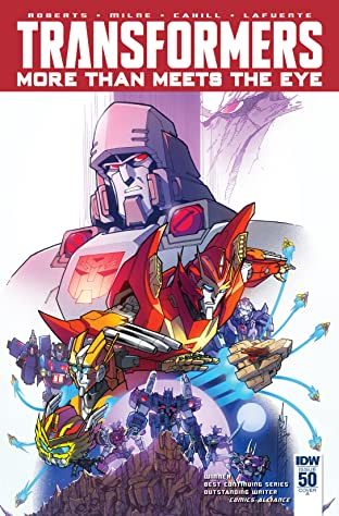 Transformers: More Than Meets the Eye (2011-) #50