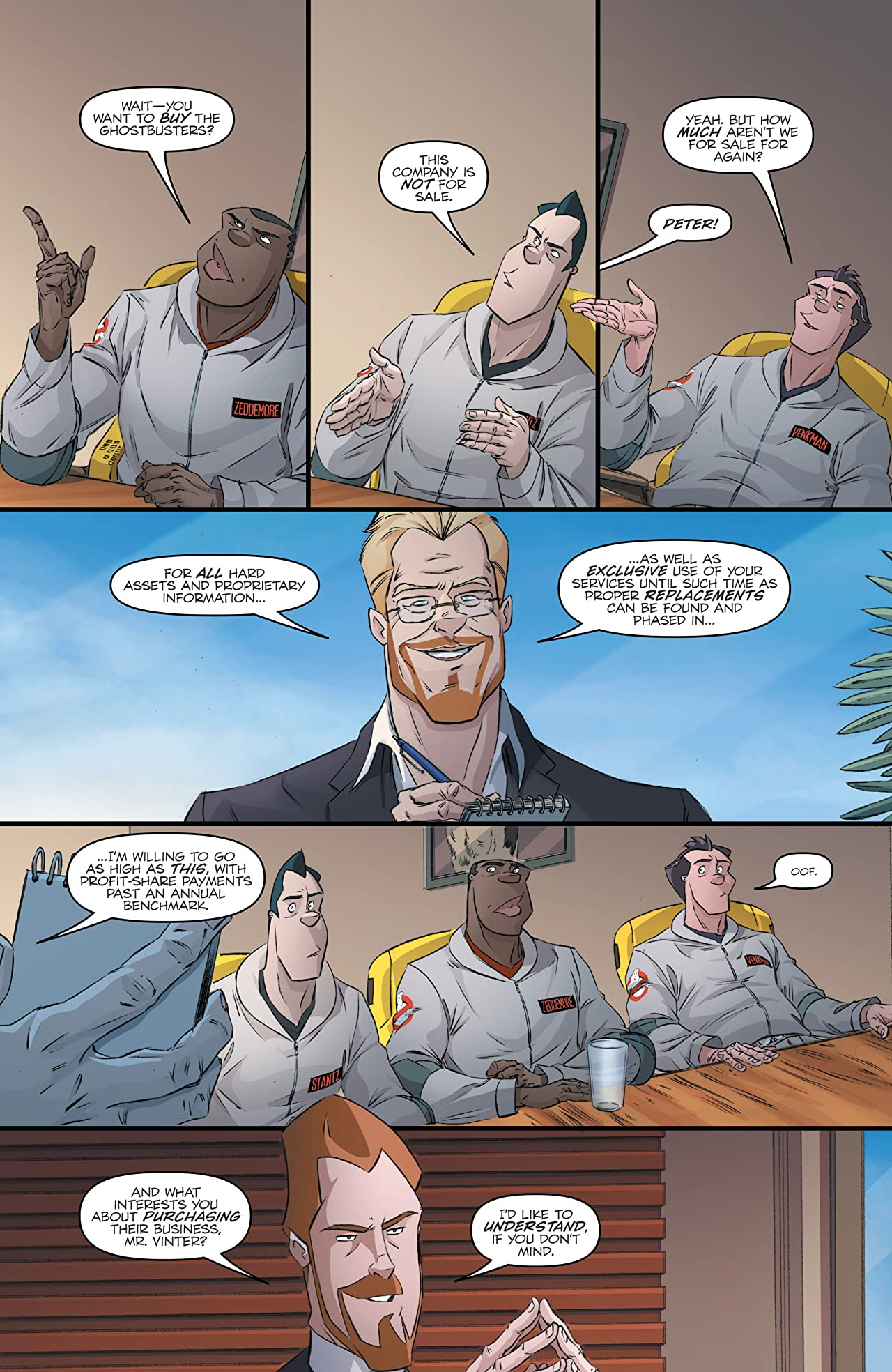 Ghostbusters International #2 (of 4)