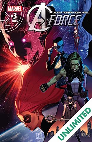 A-Force (2016) #3