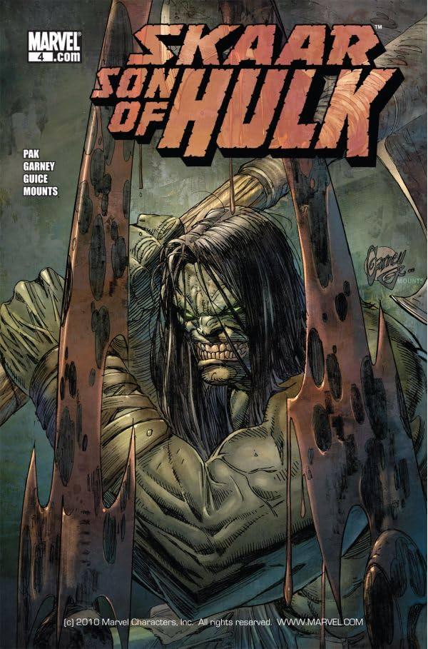 Skaar: Son of Hulk #4
