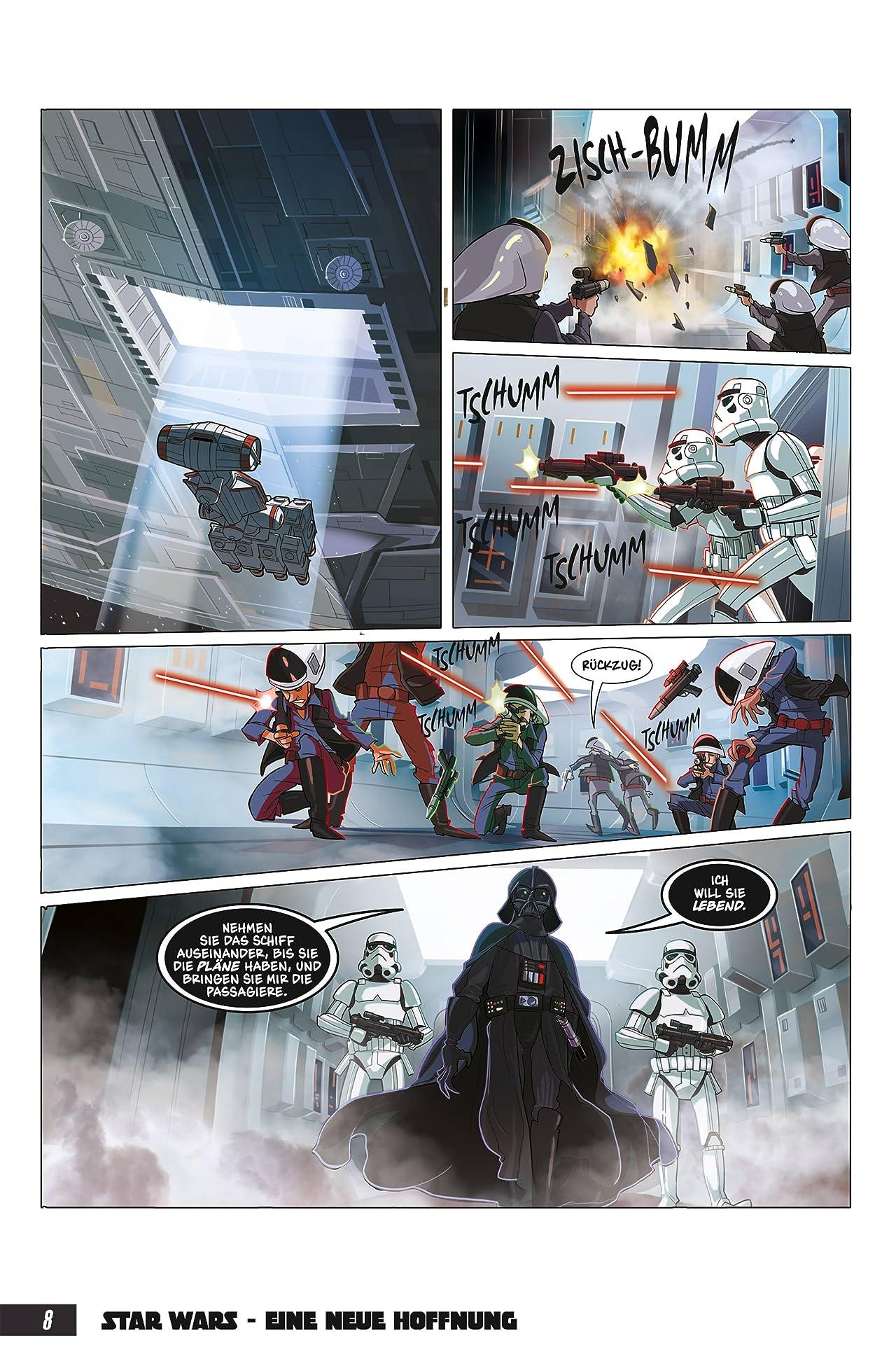Star Wars: Eine neue Hoffnung Graphic Novel