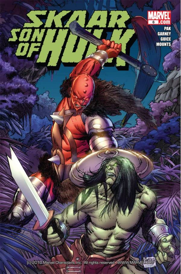 Skaar: Son of Hulk #6