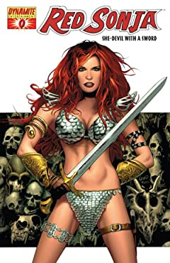 Red Sonja: She-Devil With a Sword No.0