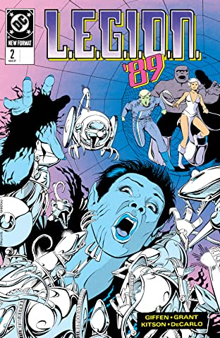 L.E.G.I.O.N. (1989-1994) #2