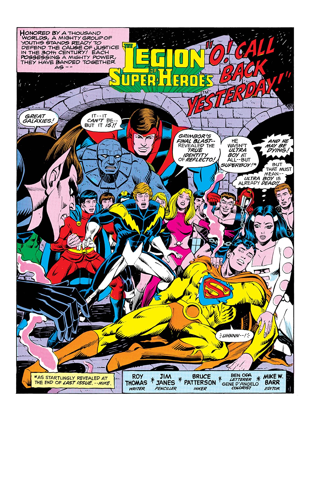 Legion of Super-Heroes (1980-1985) #280