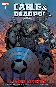 Cable & Deadpool Vol. 5: Living Legends