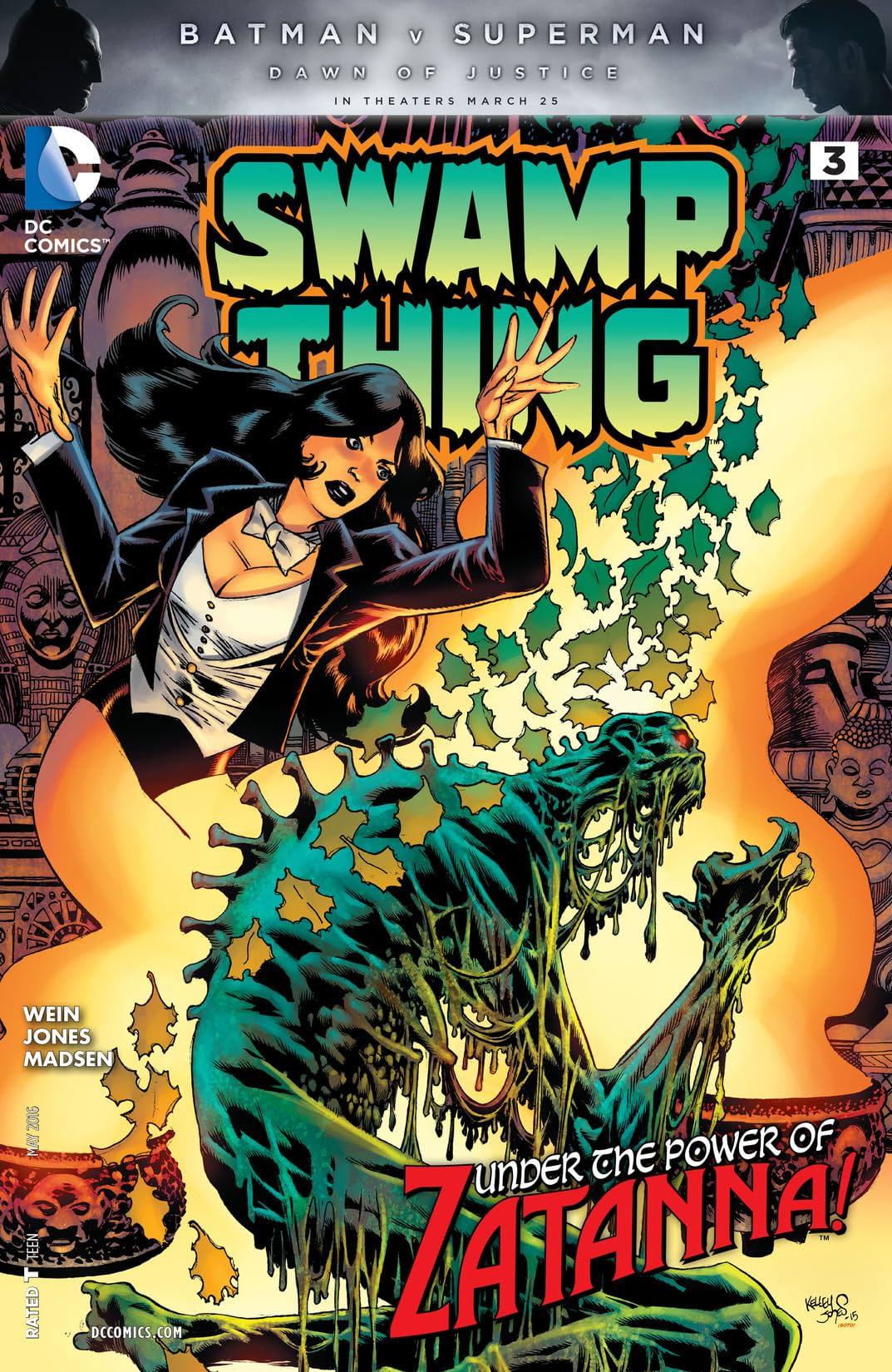 Swamp Thing (2016) #3