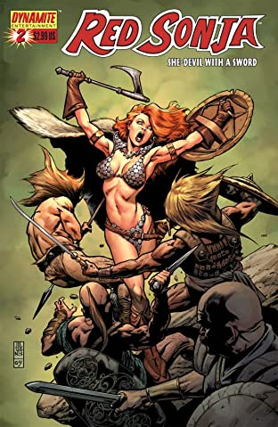Red Sonja: She-Devil With a Sword No.2