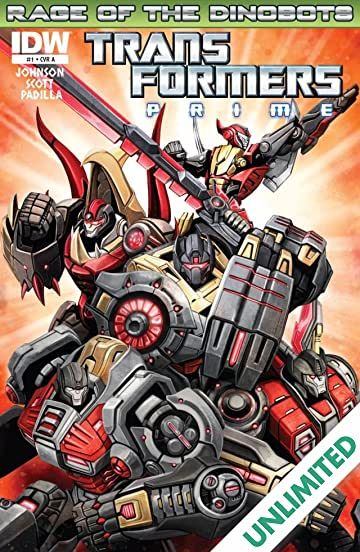 Transformers: Prime - Rage of the Dinobots #1 (of 4)