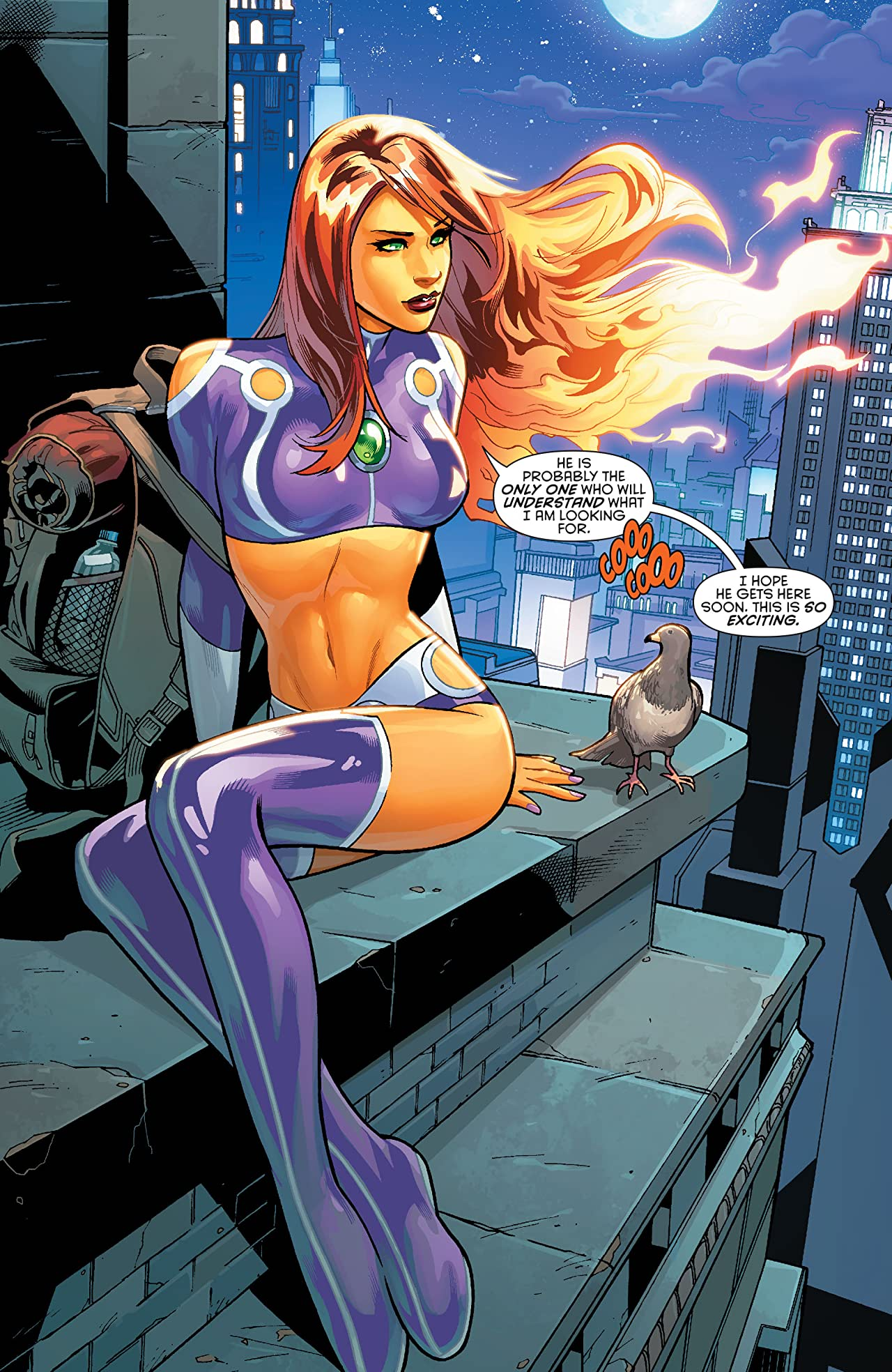 Starfire (2015-2016) Vol. 1: Welcome Home