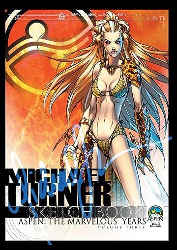Michael Turner Sketchbook - Aspen: The Marvelous Years Vol. 3