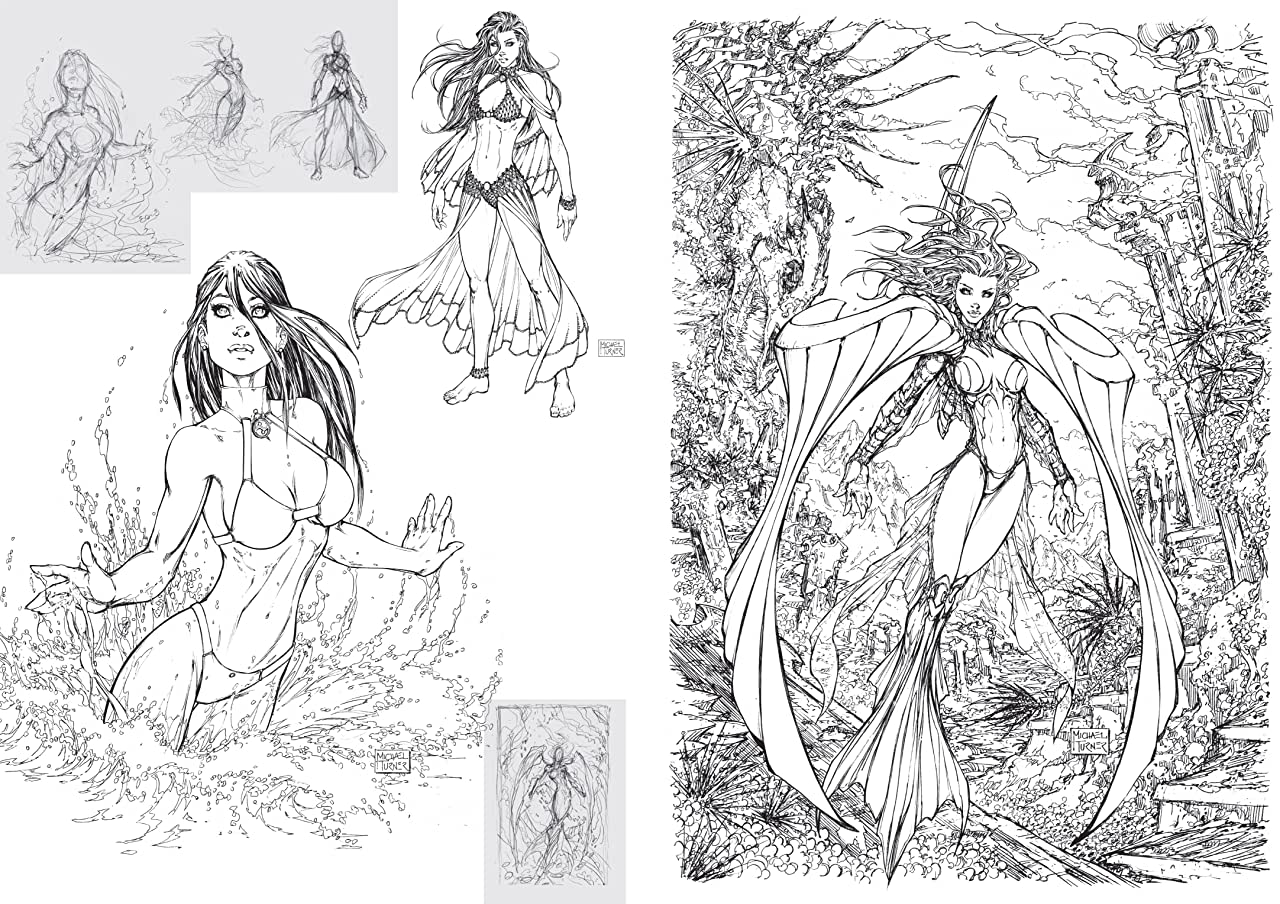 Michael Turner Sketchbook - Aspen: The Marvelous Years Vol. 3