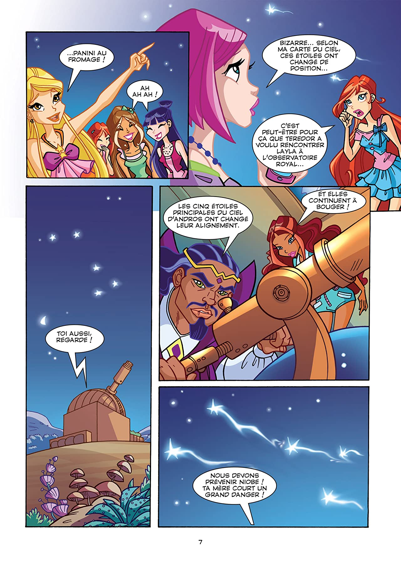 Winx Club #107: Les sirènes obscures